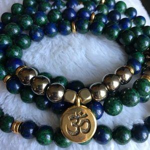 Other - Genuine Azurite Gemstone necklace/bracelet